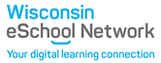 Wisconsin eSchool Network logo and website link